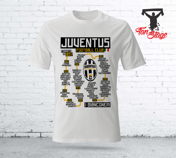ювентус-тениска